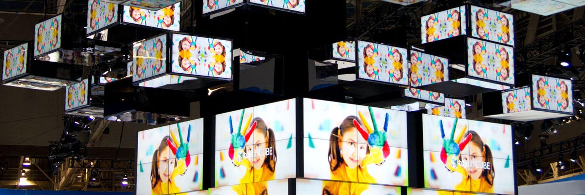 Les Fra digre berøringsskjermer til 3D-briller