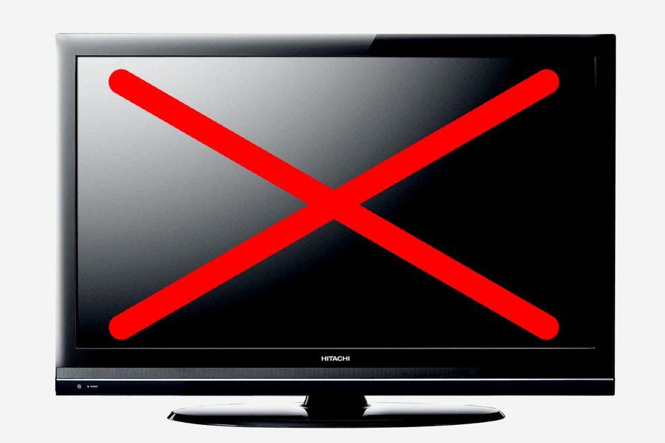Hitachi slutter å lage TV-er