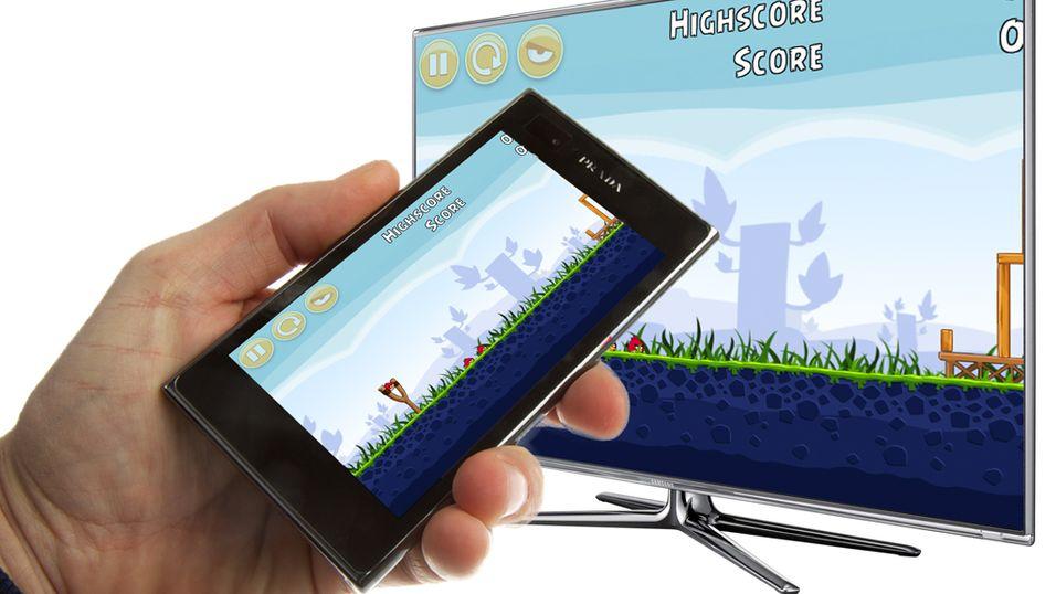 Mobilen og TV-en blir ett